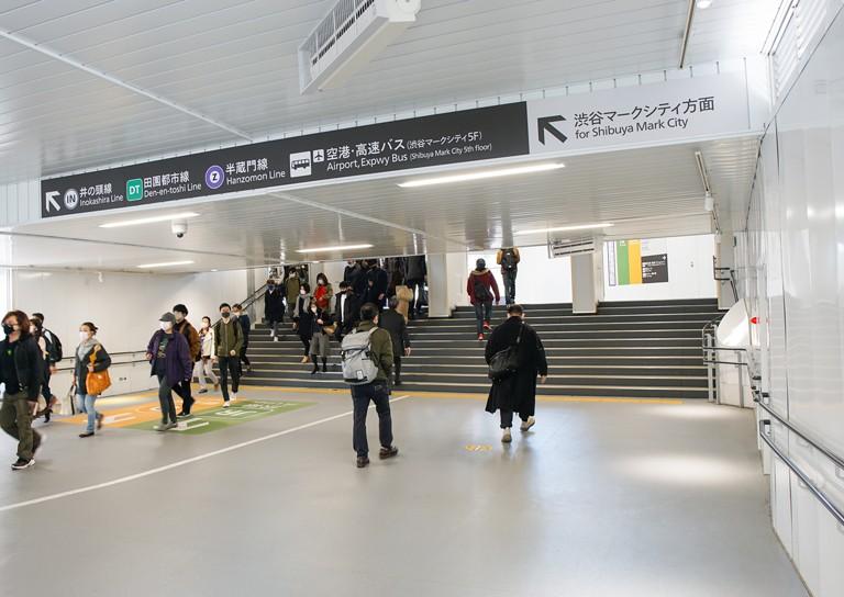 渋谷マークシティー直結通路