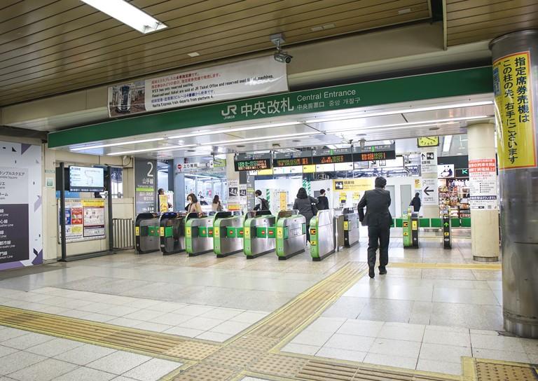 経路JR中央改札